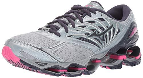 Mizuno Women's Wave Prophecy 8 Running Shoe, Quarry-Graphite 8.5 B US ()