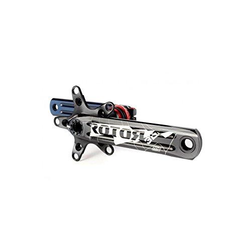 Rotor KRG 3D+ XC3 170-104 64 schwarz MTB Radkurbel, Schwarz, 104