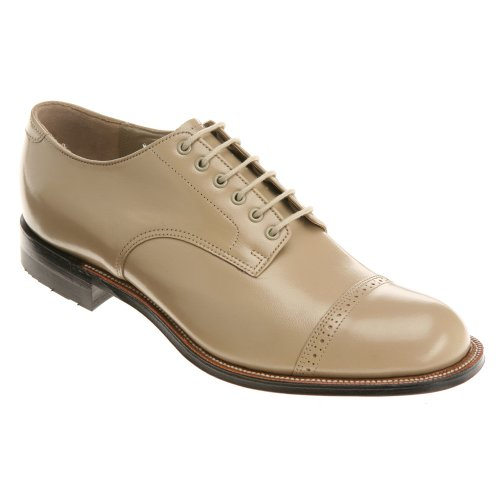 Stacy Adams Madison 00012 Mens Oxford 14 D (m) Us Taupe