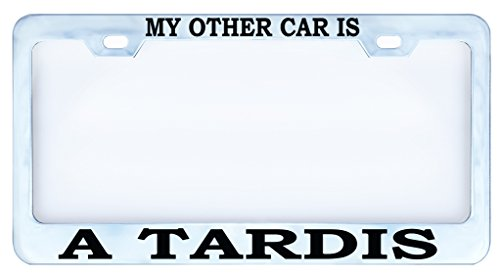 license plate frame doctor who 5 - Doctor Who License Plate Frame