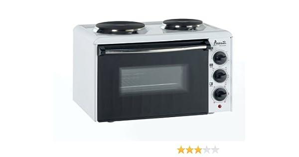Amazon Com Avanti Mini Kitchen W 2 Burners White Toaster