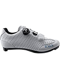 Women's R3B Donna Boa Road Sport Cycling Shoes - White/Turquoise
