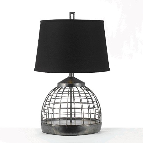 AF Lighting 8318-TL 1 Light Table Lamp Antique (Contemporary Pewter Table Lamp)