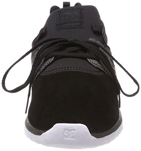 DC Shoes Herren Heathrow Se Sneaker Schwarz (Schwarz Wash Bw8)