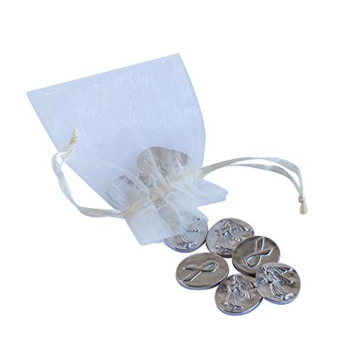 DANFORTH - Vilmain Awareness Angel Pocket Tokens - Bag of 10 Coins - -
