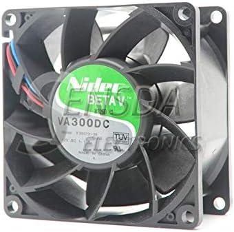 For Nidec VA300DC v35072-58 8cm 80mm 808038mm 8038 12v 1.1A server fan