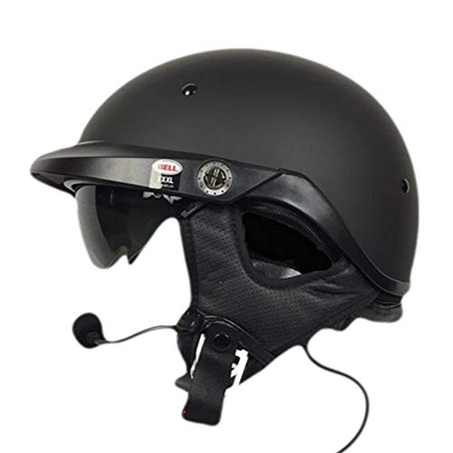 Bell Pit Boss With J&M 284 Headset and Lower Cord GW 5 Pin - Matte Black Xlarge/XXLarge ()