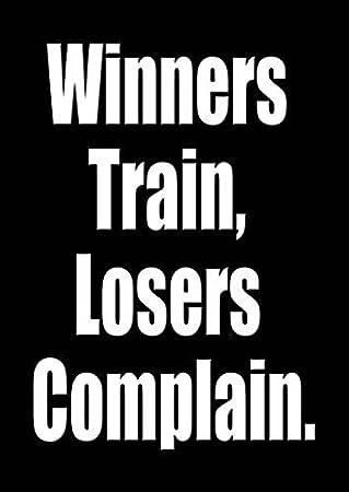 Amazon.com: 305 – de motivación cita – A3 Poster – Gimnasio ...