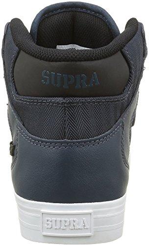 Supra Vaider LC Sneaker Marineblaues Leder