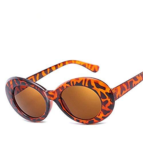 diseñador de gafas la peso Marrón Tortuga de mujeres gafas de 2018 mujeres ovales moda nuevas sol sol frijol gafas de marca OMAS Disfraz gafas Tortuga hombres Marco de fFq8w