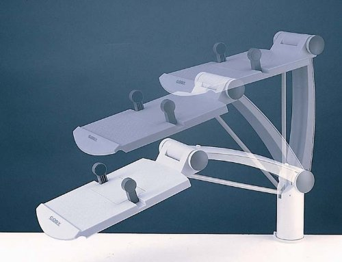 Aidata TA002 Ergo Flex Phone Arm; Height Adjustable Up to 410mm/16 Off The Desk, Rotates 360º and Extends 24