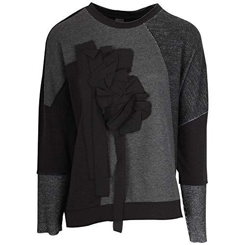 Sport Black Crea Luxe Concept Long Sleeve Jumper wtYBxSqYr