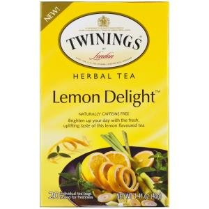 Twining Tea Herbal Lemon Delight, 1.41 oz (Lemon Twinings Tea)