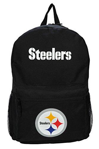 The Northwest Company NFL Pittsburgh Steelers Sprint Backpack, Black