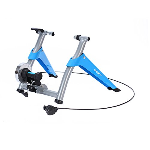 Gharpbik Stationary Indoor Cycling Bike Trainer Stand-Portable Exercise Bike Mechanics Stand with Variable Magnetic Resistance for Bycicle Indoor Riding(Mannequin:TQJS-28) – DiZiSports Store