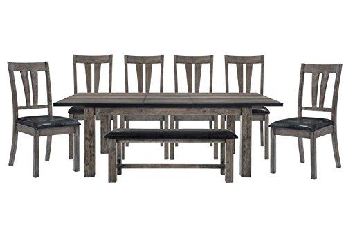Cambridge Drexel 8-Piece Dining Set, Brown (Home Depot Set Dining)