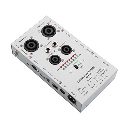 Keilton Silverlite 11 Plug Automatical Audio Cable Tester