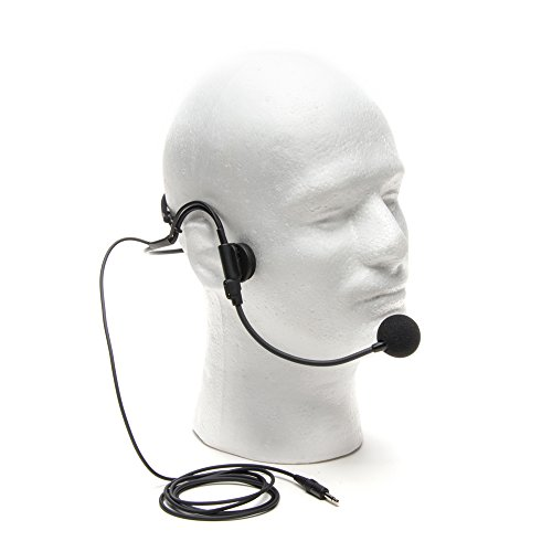 Azden Unidirectional Mic - Azden HS12 Unidirectional Wireless Headset Microphone