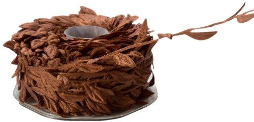 May Arts Ribbon, Rust Leaves