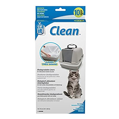 Catit 50555Biodgble Litter Box Liner 50 x 73.5cm