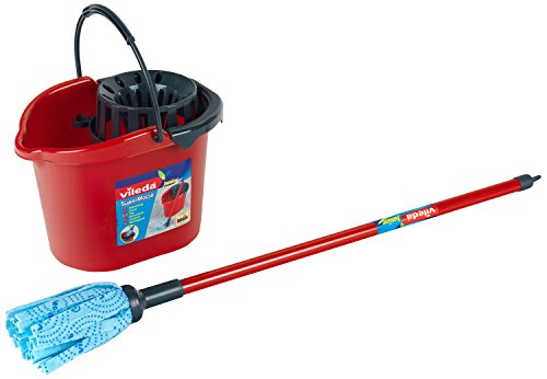 Country Vileda Theo Klein Vileda Wipe-Mop with Bucket and...