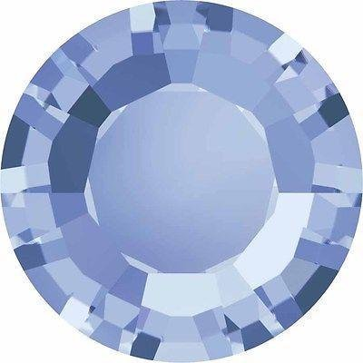 1128 Swarovski Chatons & Round Stones Table/Double Sided | Light Sapphire | SS29 (6.2mm) - Pack of 360 (Wholesale) | Small & Wholesale Packs