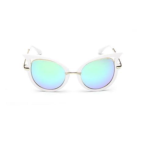 Z&YQOcchiali da sole Occhi di gatto Montatura in metallo Tendenza anti-UV Viaggiare in viaggio Street beat Occhiali , B