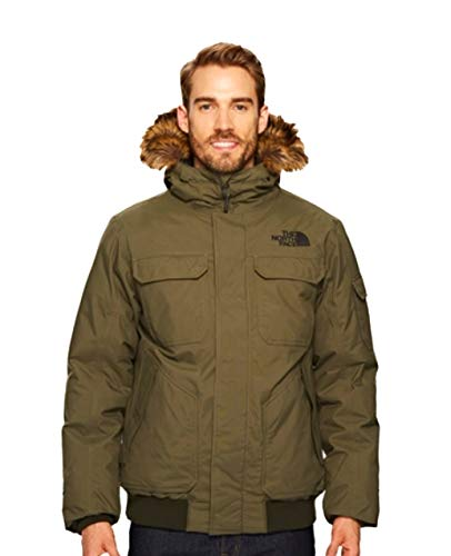 The North Face Men Gotham Jacket-RTO-New Taupe Green-Small