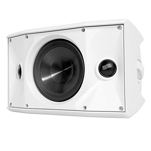 """SpeakerCraft One Series 6-1/2"""" 125W On-Wall Outdoor Speaker (Each) White OEDT6ONEWH"""