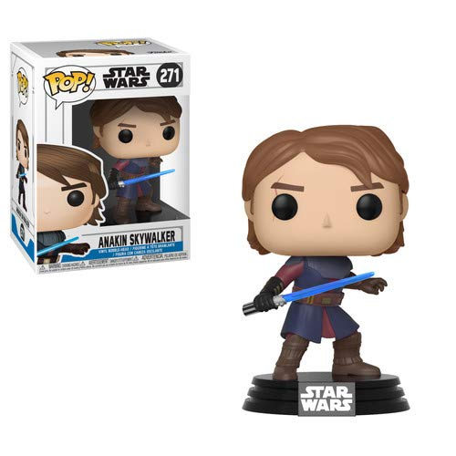 Funko Pop Star Wars: Clone Wars - Anakin Skywalker Collectible Figure, -