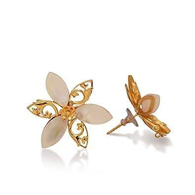 Senco Gold 22KT Yellow Gold Stud Earrings for Women Earrings
