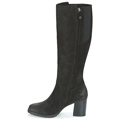 Geox donna stivali nero D746UB scarpe in camoscio inverno 2018, eu 40