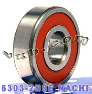 Nachi Pilot Bearing - 6303-2NSE Nachi Bearing 17x47x14 Sealed C3 Japan Ball Bearings