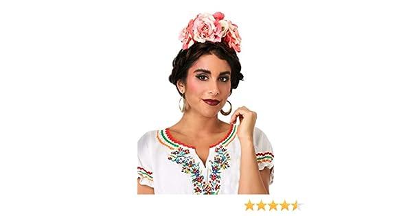 Fun Costumes Frida Kahlo Flower Headband Standard: Amazon.es ...