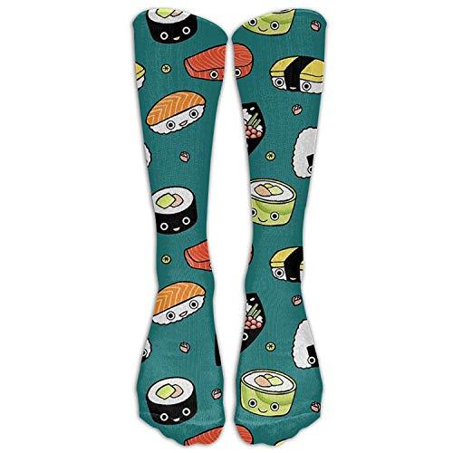 (Japan Sushi Kawaii Knee High Socks Long Sports Tube Stockings For Men&Women All Sport Holiday One Size)