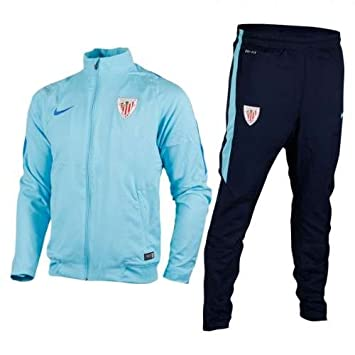 2015-2016 Athletic Bilbao Nike Woven Tracksuit (Tide Blue): Amazon.es: Deportes y aire libre
