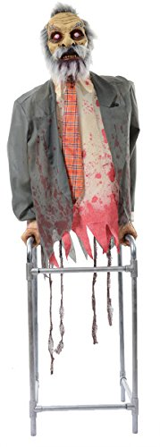 MORRIS Limbless Jim Large Animated Zombie Halloween Decorations (Large Image)