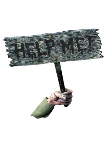 Help Me Halloween Sign -