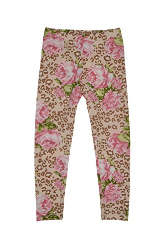 Kate Mack Girl's 7-16 Sweet Escape Legging, Multicolored - 08
