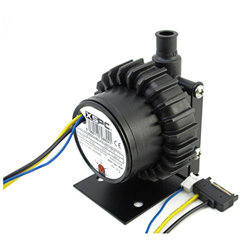 XSPC D5 Vario Pump with SATA power and Front Cover (1/2 Barbs) by XSPC (Image #2)
