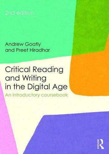 Critical Reading and Writing in the Digital Age: An Introductory Coursebook Black White Photography Digital Age