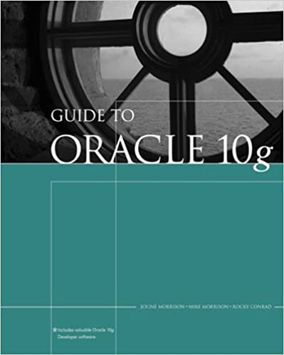 Amazon com: Guide to Oracle 10g (Thomson Course Technology