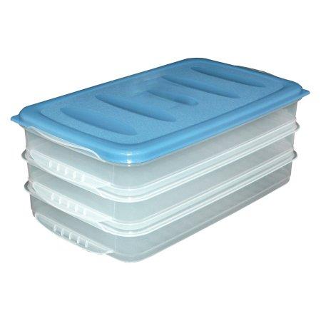 Vorratsbox Aufschnittdosen Aufschnittbox Aufbewahrungsdose 3er Set
