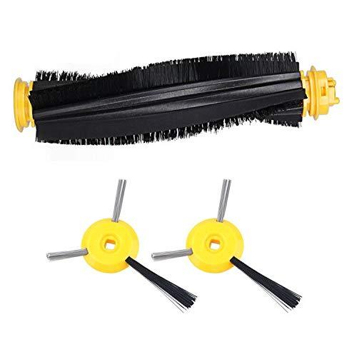 - iVict Robot Replacement Brushes Kit for Shark ION Robot RV700 RV720 RV750 RV750C & RV755 -Includes 2 Side Brushes, 1 Main Brushroll