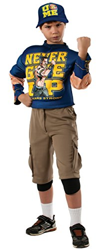 Muscle Chest John Cena Child Costume - Medium by Halloween Resource Center, Inc.
