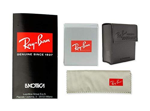 With Eyewear ban Deluxe 601s Sunglasses Bundle Matte Rb4105 Folding Wayfarer Ray Accessories Black XWqfBq