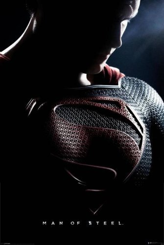 Man Of Steel - Superman Movie 24x36 Poster Teaser (Henry Cavill) (Movie Man Of Steel)