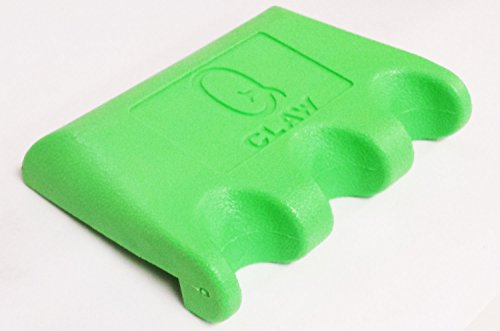 Q Claw 3 Cue Holder Green - Cue Clamp Porper