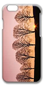 iPhone 6 Case, Custom Design Covers for iPhone 6 3D PC Case - Beech Trees At Sunrise