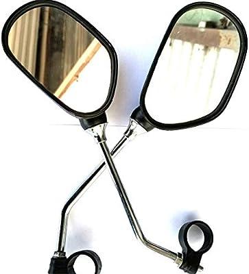 Bicicleta espejo 2 pares universal 360 grados espejo retrovisor ...